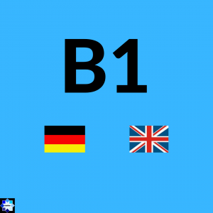 B1 Courses German and English