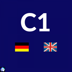 C1 Courses German and English