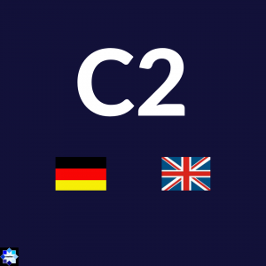 C2 Courses German and English