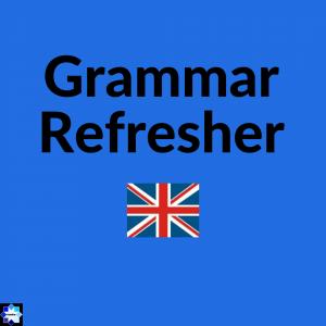 Grammar Refresher English